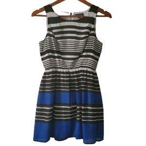 AS U WISH Women's Striped Fit & Flare Dress Size 3